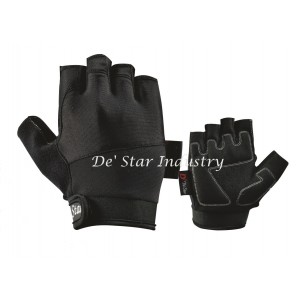 Men's perforated cycling glove