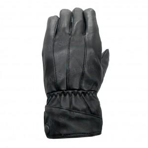 Men Fashion Winter Leather Gloves