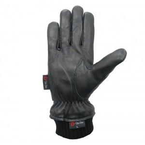 Elite Winter Warm Knitted Cuffs Leather Gloves