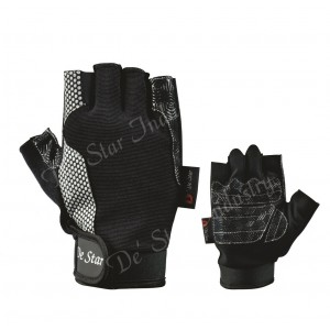 Economy anti slip palm patch weight lifting gloves