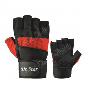 Sturdy weight lifting gloves