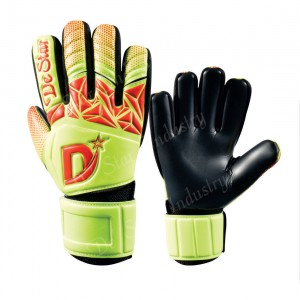 Hybrid Pro Green & Black Goalkeeper Goalie Gloves