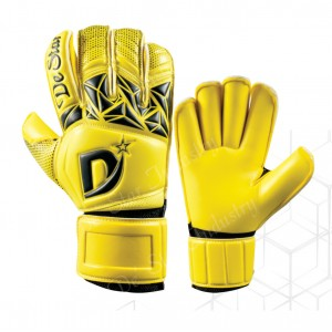 Premium Design Sharp Yellow Pro Goalkeeper Gloves