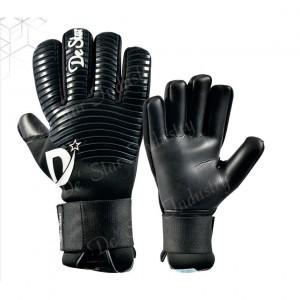 Adult Predator Finger Protection Black Goalkeeper Gloves