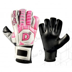 Ladies Pink Classic Design Women's Goalkeeper Gloves