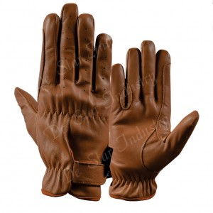 fine leather equestrian gloves