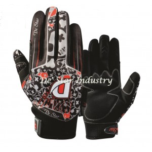 De Star lite carbon off road dirt bike gloves