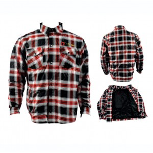DSI Men's Long Sleeve Warmed Flannel Shirt