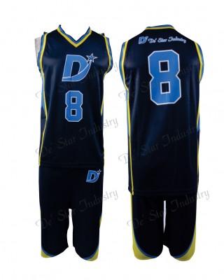Custom design team basketball uniform