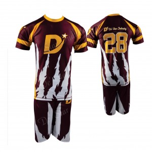 Custom Sublimation Design Football Uniform For Youth & Adult