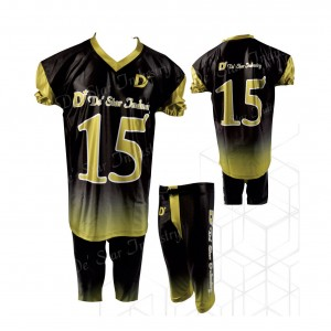 New Dye Sublimation American Football Jersey