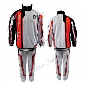 Casual Tracksuit Warm Up Suit Gym Training Wear