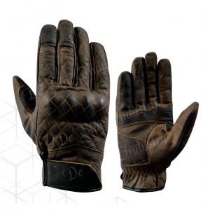 DSI vintage brown racer gloves